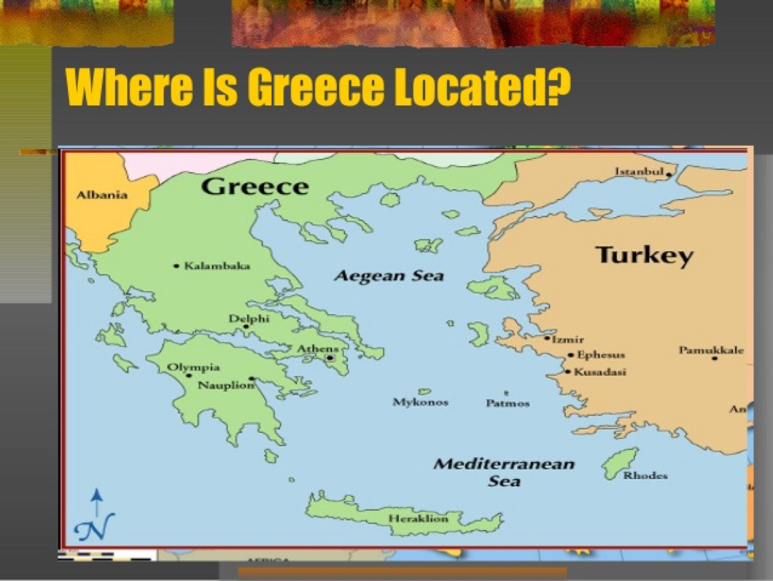 Ancient Greece By Ashbra - Where is athens located