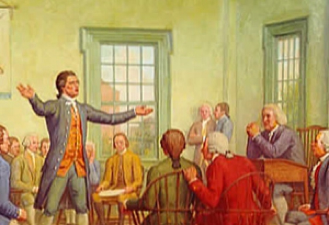 continental congress meets in philidelphia delegates meet to protest british control