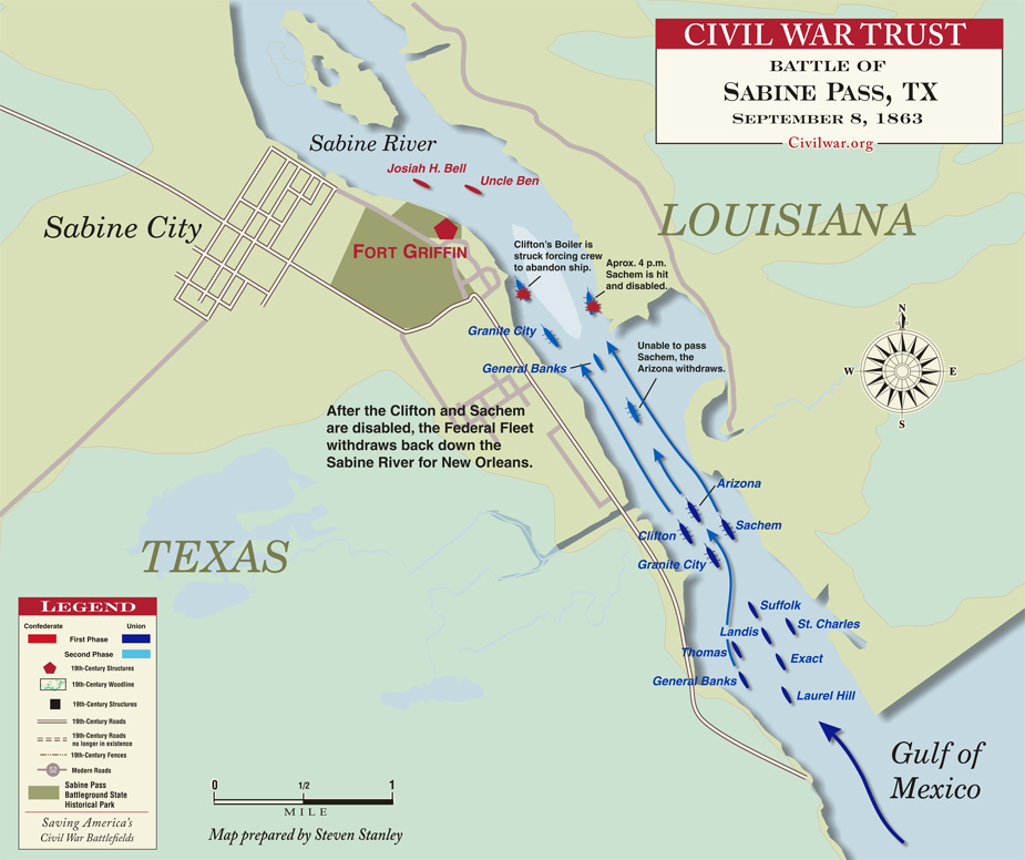 Civil War Battles In Texas By Bakeyd - Us map of civil war battles