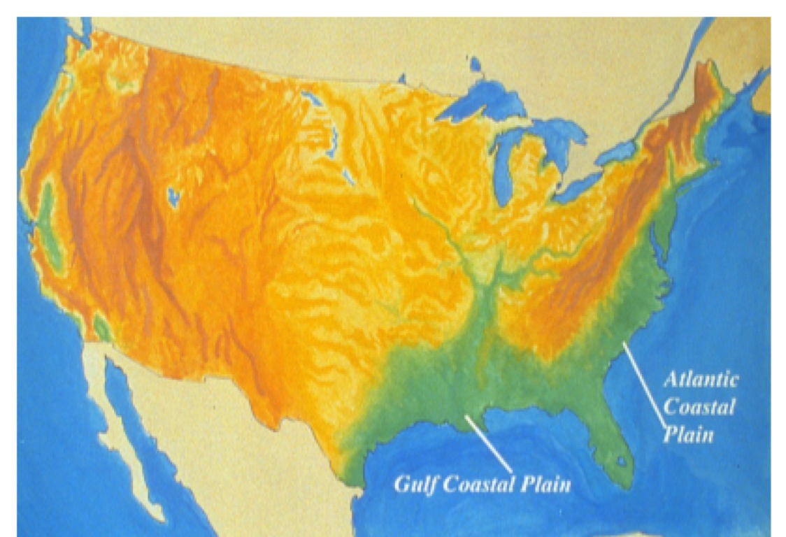 a discussion on the gulf coastal plains as the most desirable region to live in Start studying ss chapter 1 the nearby gulf of mexico gives the coastal plains a far from the gulf, the great plains is a dry region with long periods.