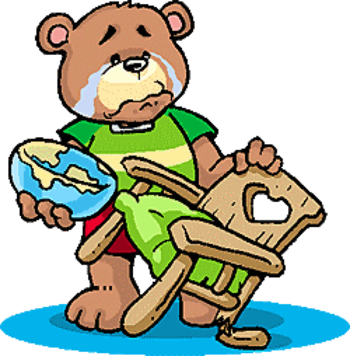 goldilocks returns to the three bears fractions by rh haikudeck com In Thier House and Goldilocks the Three Bears Clip Art Goldilocks and the Three Bears Coloring Pages