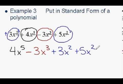 Polynomials And Polynomial Functions By 1315026741