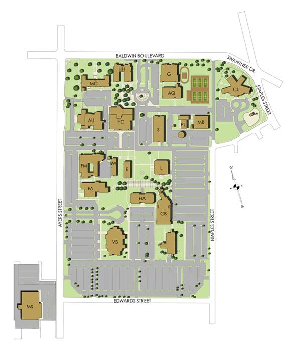 del mar east campus map Swc Is Emergency Ready By Kkennedy del mar east campus map