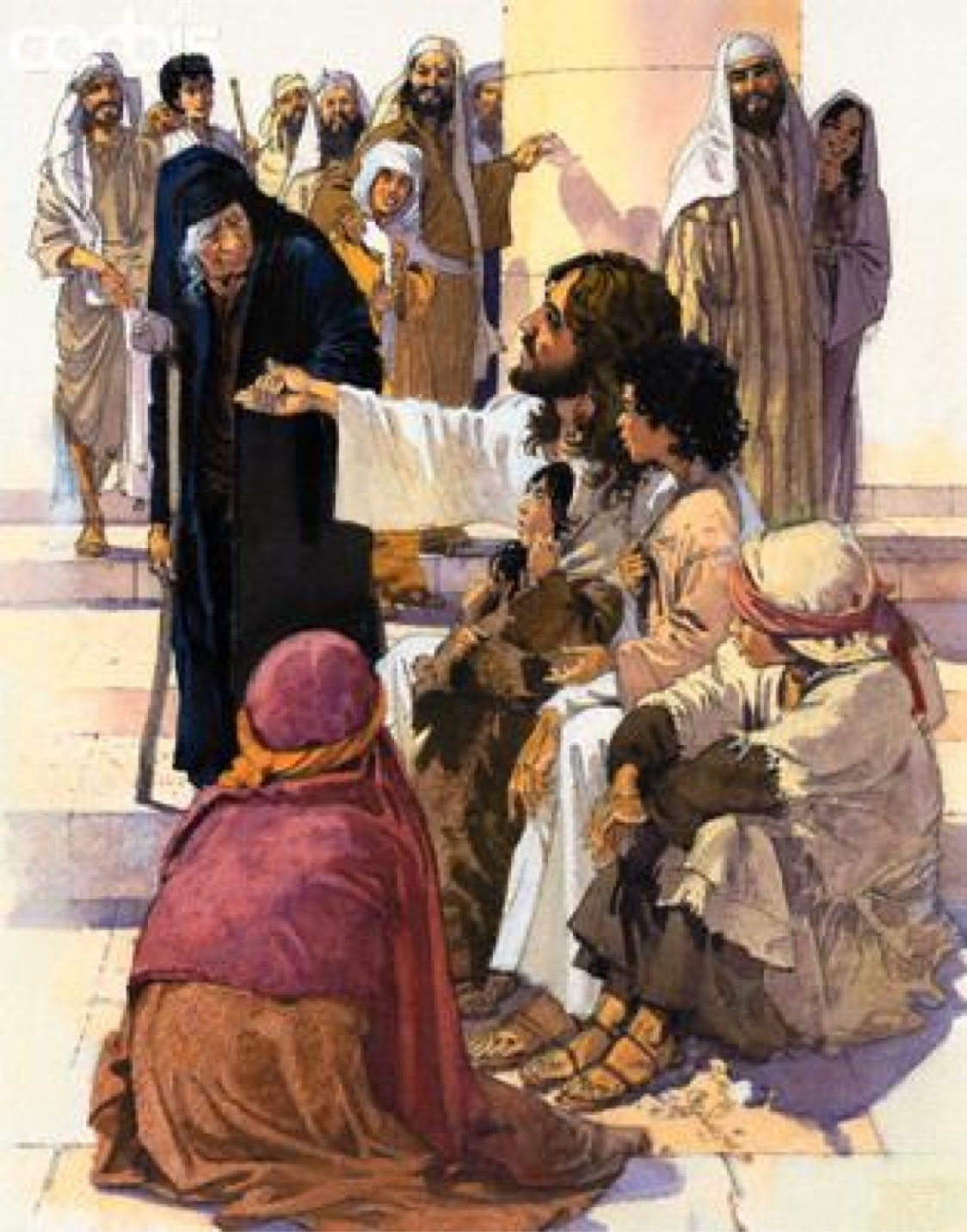 the teachings of jesus on wealth and poverty in the gospel of luke Union presbyterian seminary equips christian leaders for ministry in the poverty and wealth in the gospel of luke jesus picks up this theme in two.