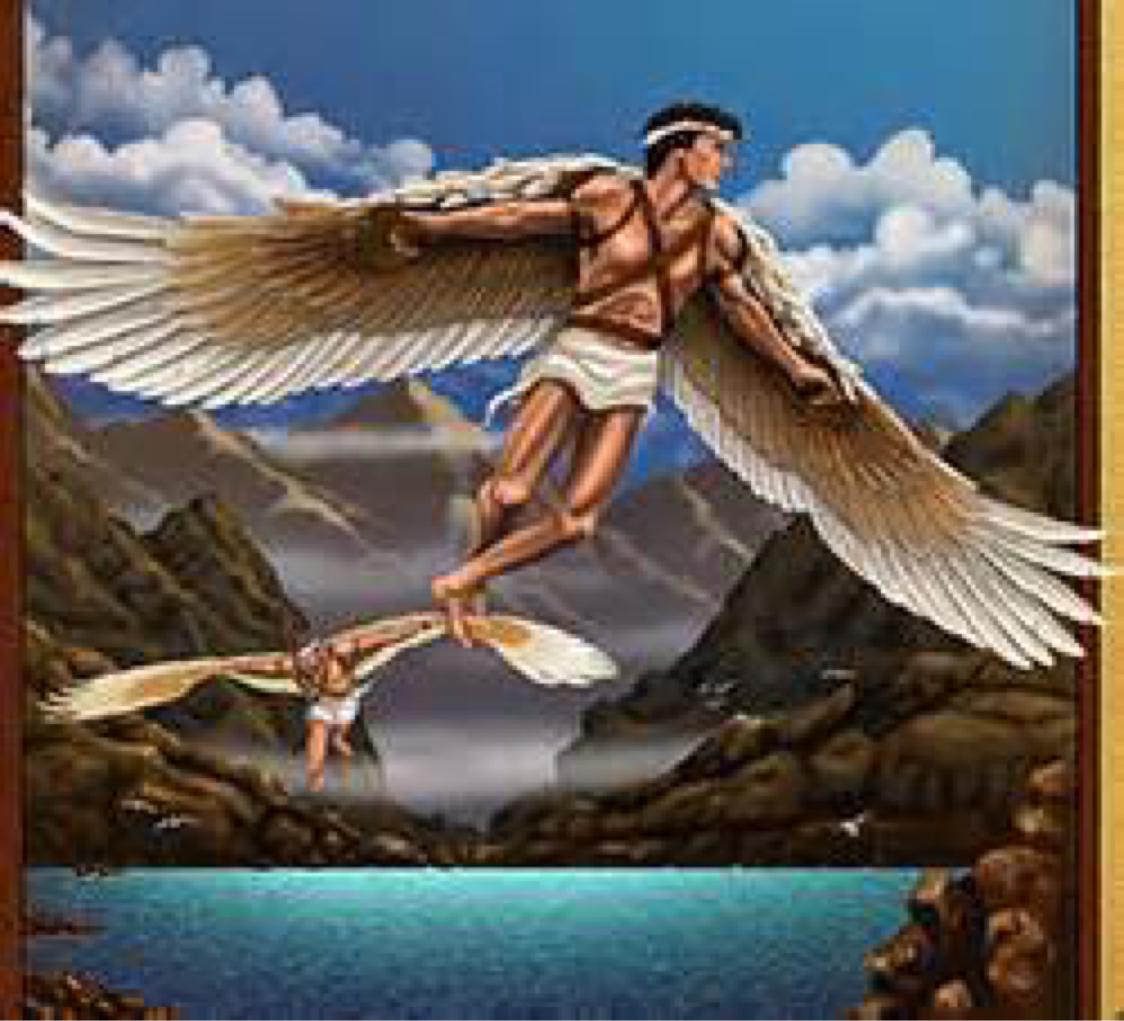 Как люди сделали себе крылья