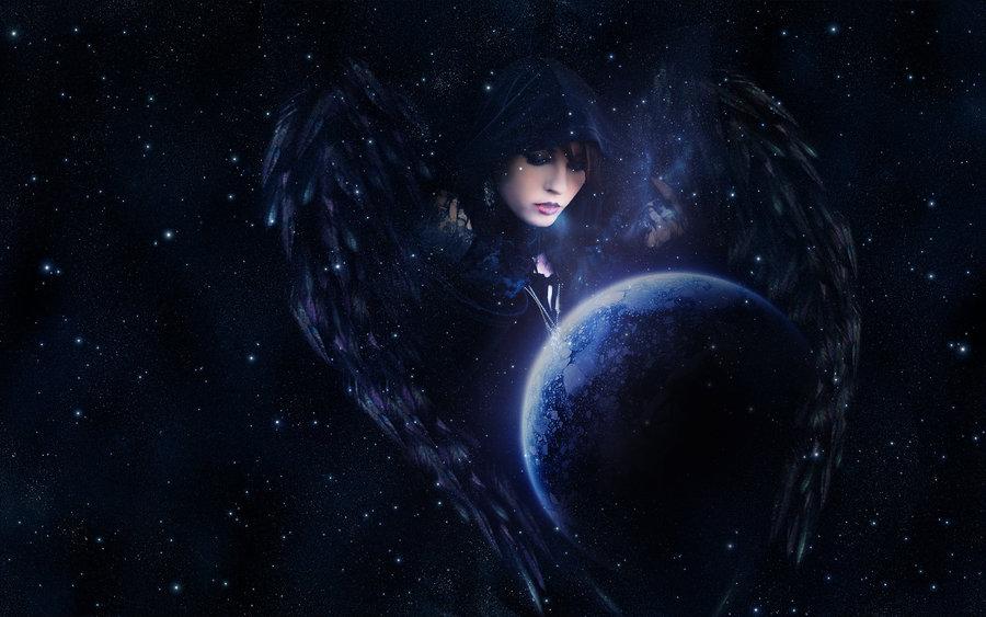 Nyx The Greek Goddess Of Night By Morrowfrancis