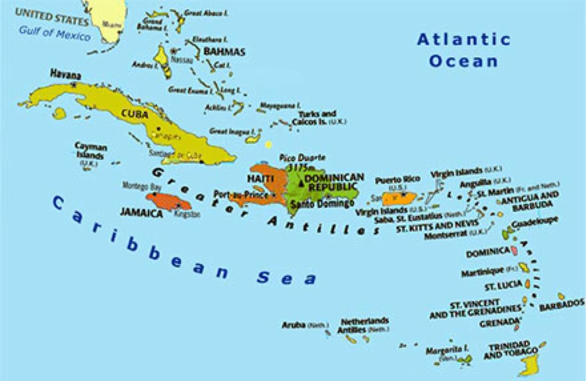 100 Greater Antilles Political Map Caribbean Map Of Hispaniola Stock Photos U0026 Map Of