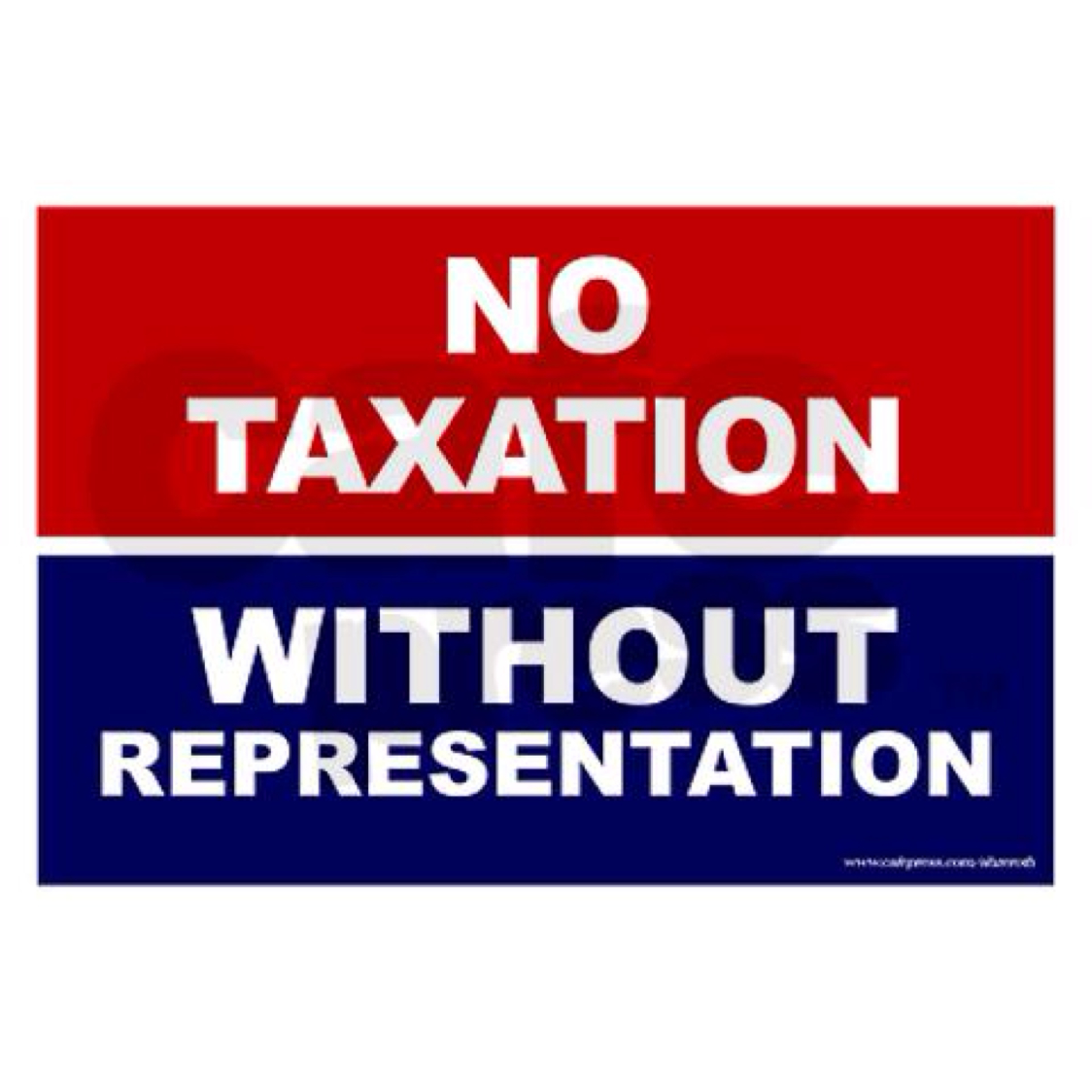 taxation without representation essays