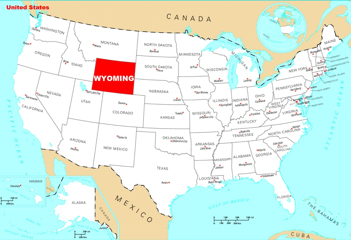wyoming homesteading wyoming historical maps us map with pin