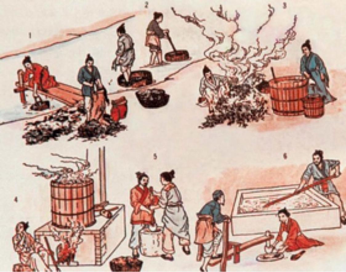 a description of the invention of gunpowder