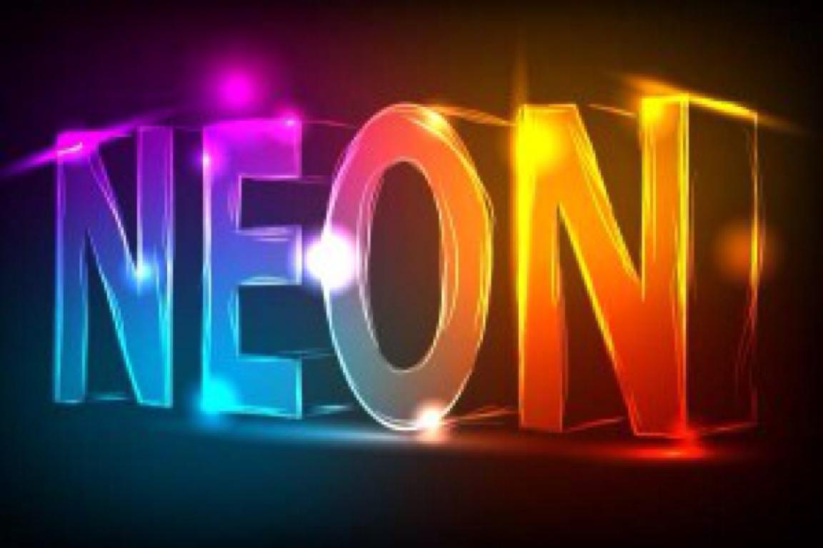Neon element by bailey collingham buycottarizona Images