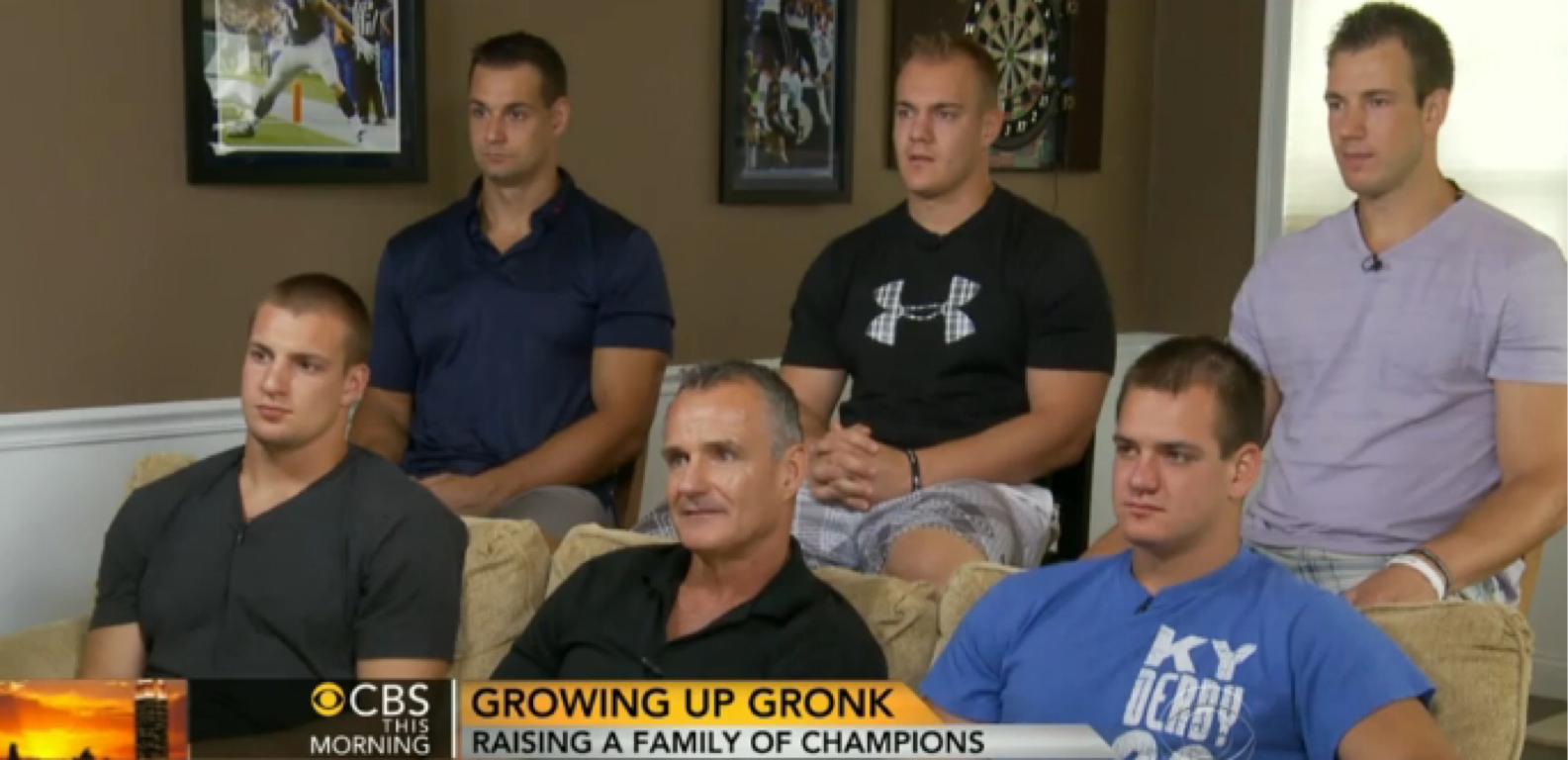 Growing Up Gronk by Patrick Cooke