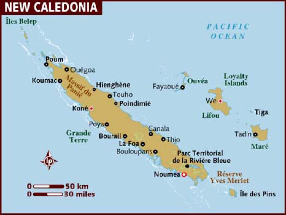 Copy of New Caledonia