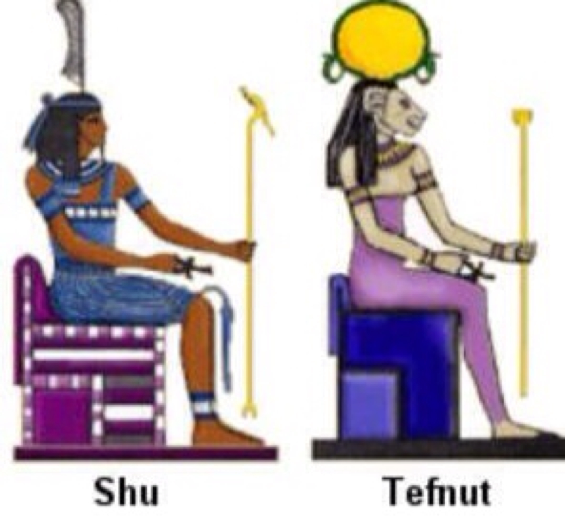 Shu Egyptian God Of Air Symbol