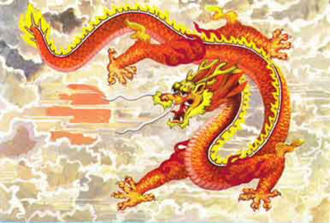 Ancient Chinese Dragons by Brouke Olvera