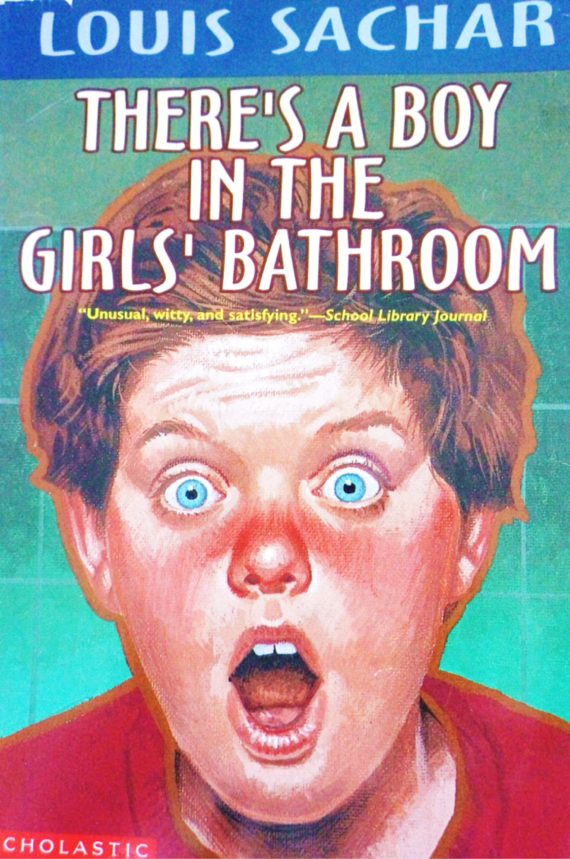 There's A Boy In The Girls Bathroom! by Jamin Corner