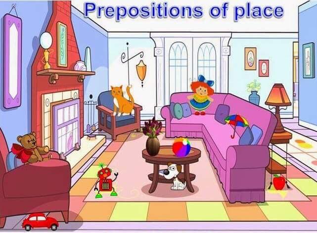 Prepositions of place by Oscar Zamarripa Del Moral