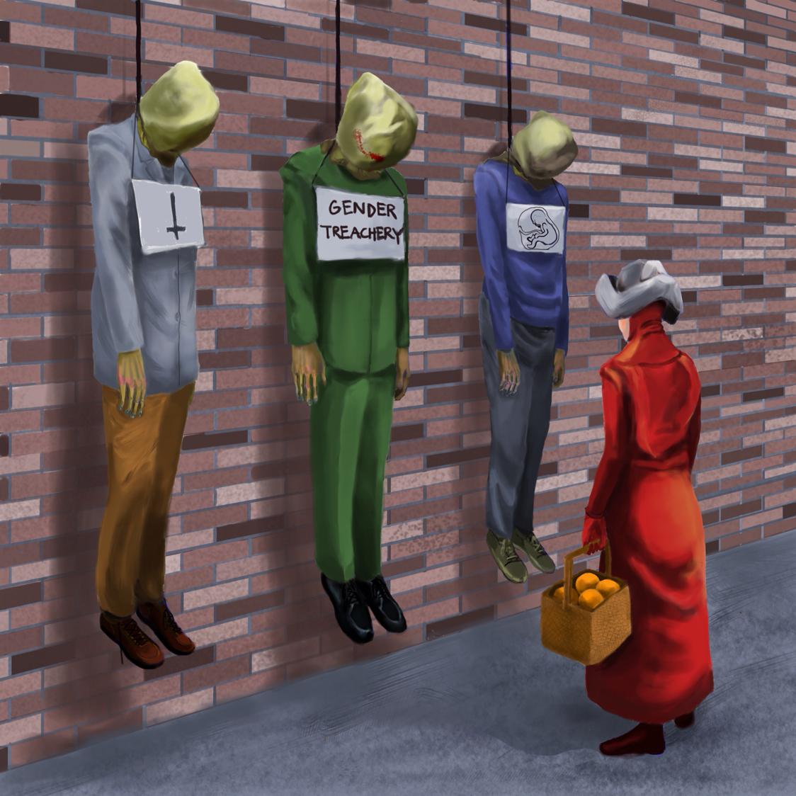 The Handmaids Tale By Nadene Preciado
