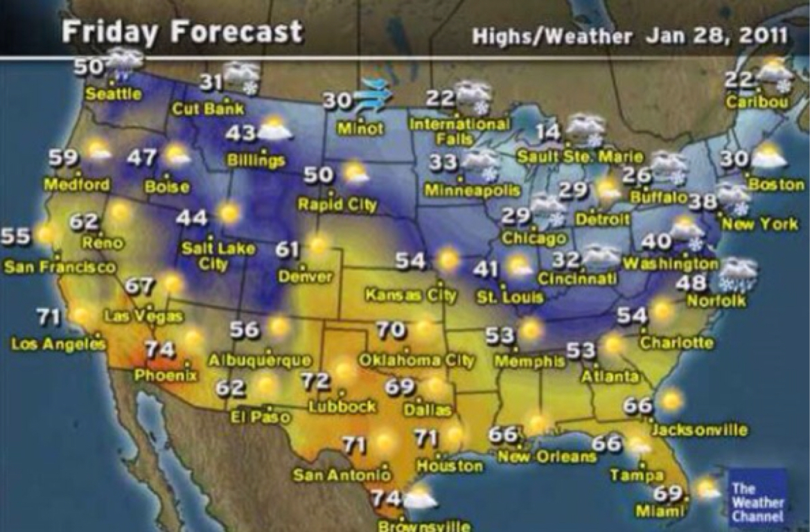 Weather Map Tampa Different Types Of Maps Map Of Southwest Usa