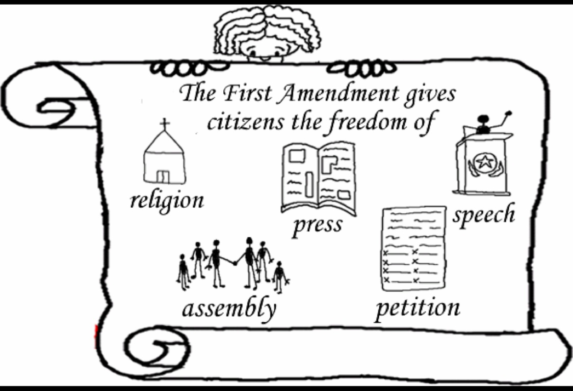 Bill Of Rights Coloring Sheets Coloring Pages