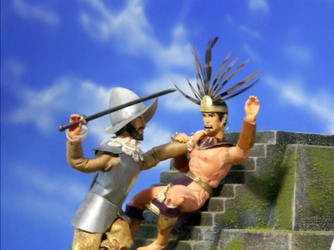 how was montezuma killed