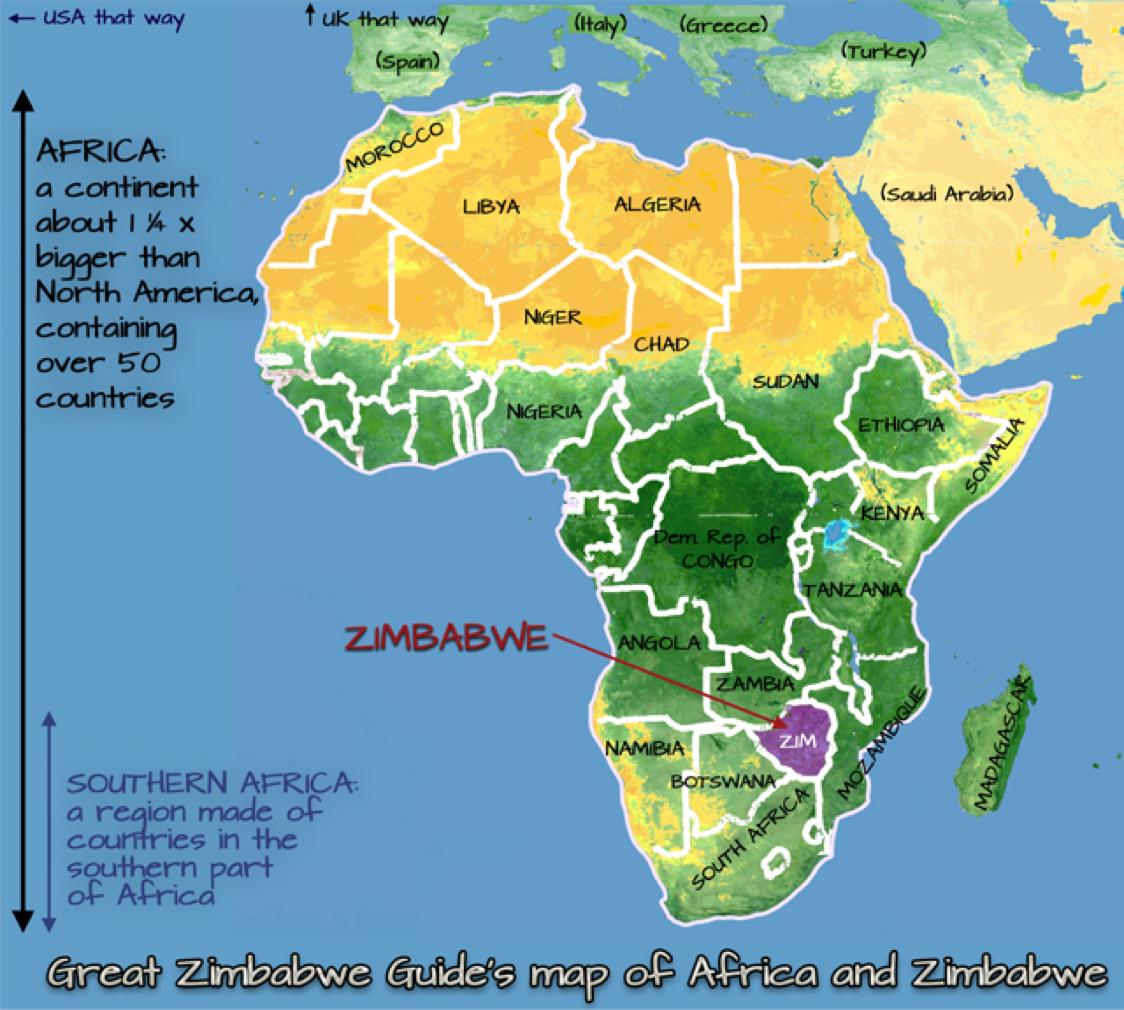 Great Zimbabwe Map Africa.Zimbabwe By Matthew Dooner