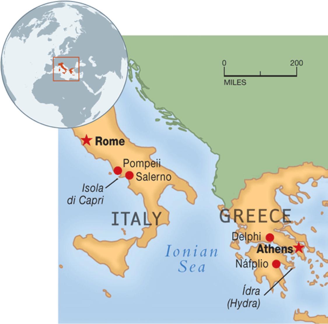 Untitled Haiku Deck By Melanie Caggiano - Greek and rome map
