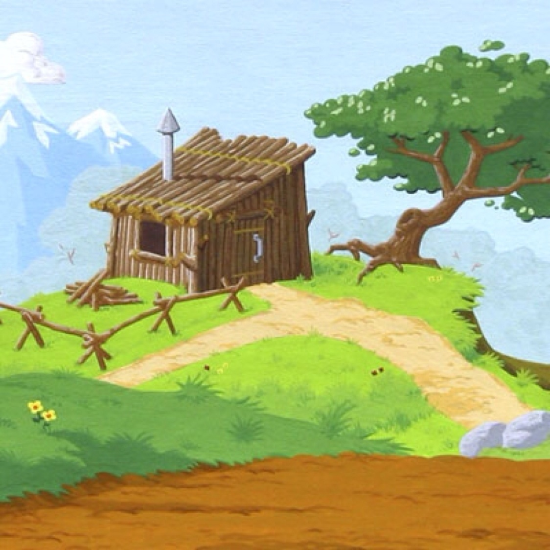 Stick House Clipart Three Little Pigs | www.pixshark.com ...