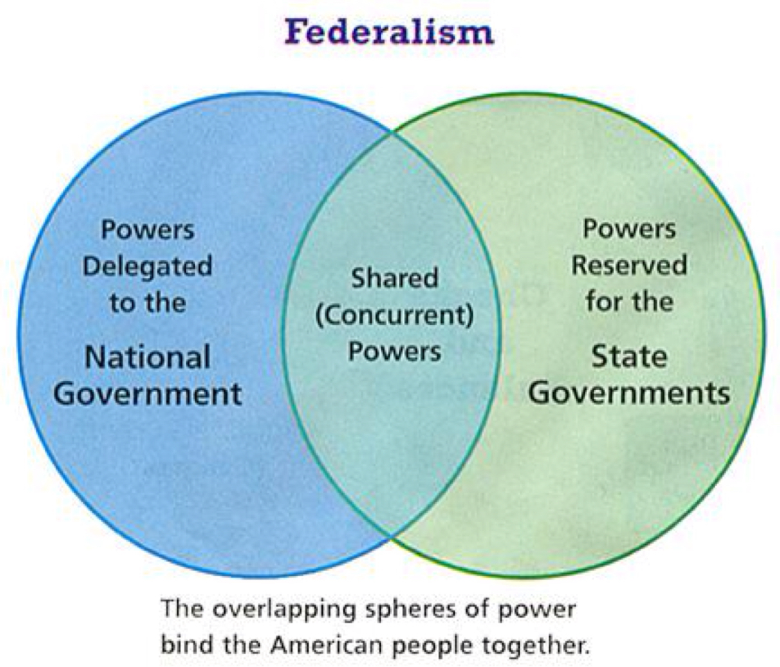 the u s federal system understanding the A federal system of government is a two-tiered system it means that a nation's smaller local state governments are connected and guided by a central national government's rules in a federal system of government, some areas of public life are governed by local governments, while others are ruled by the central national government.