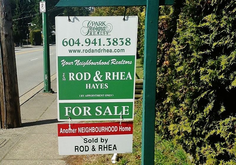 Image result for rod and rhea hayes for sale sign