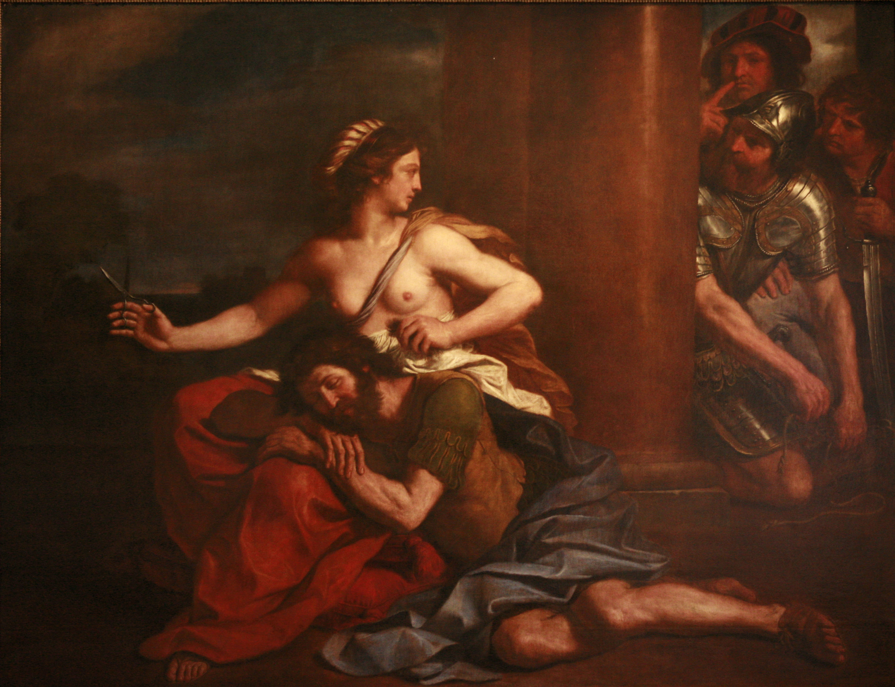 Samson And Delilah By Minanicole