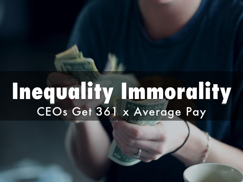 Inequality Immorality