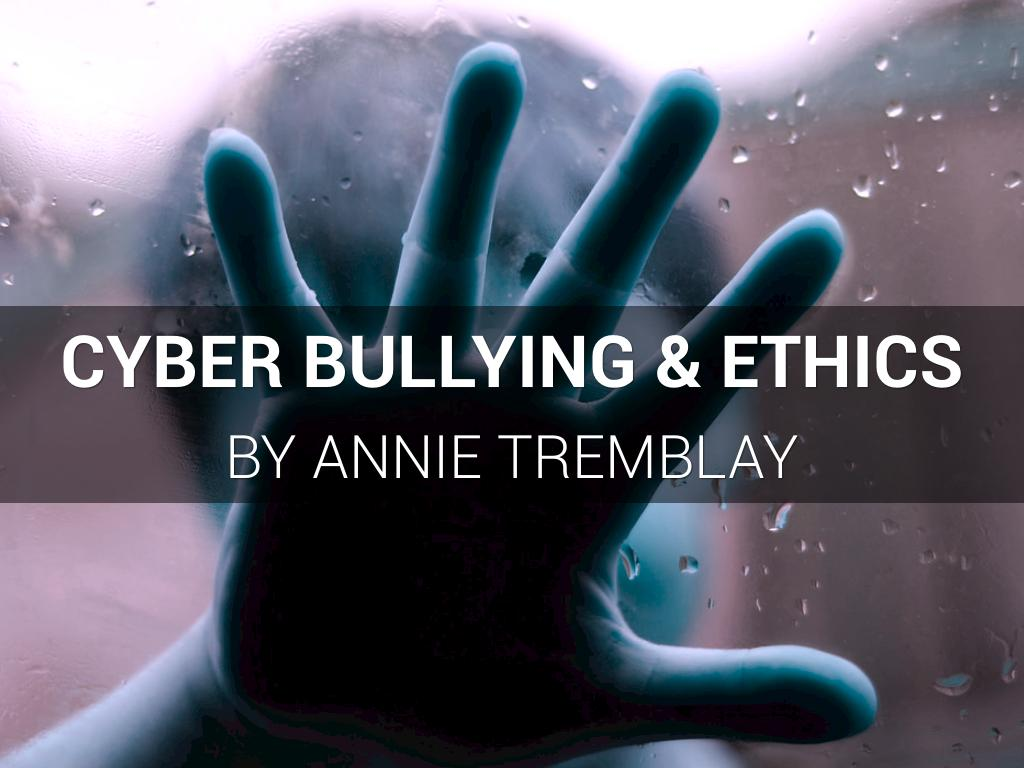 morality with in cyberbullying Is an online app that crowdsources ideas on digital ethics  had young people  create their own anti-sexting and cyberbullying solutions for a.