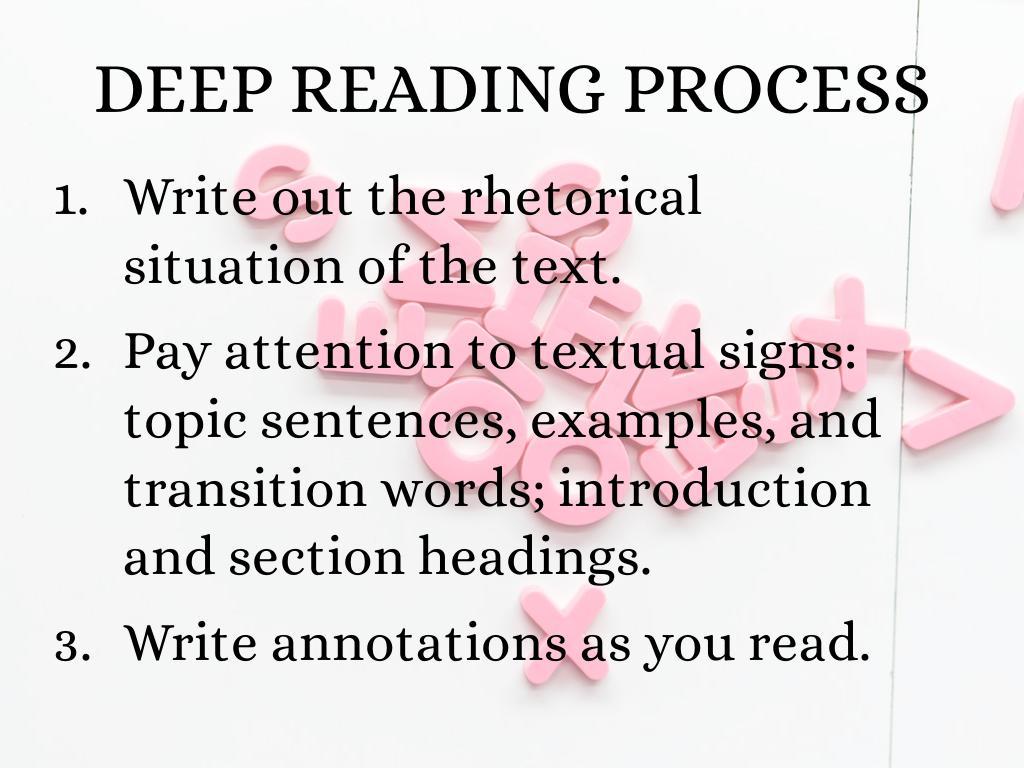 Deep Reading by Barbara Bird