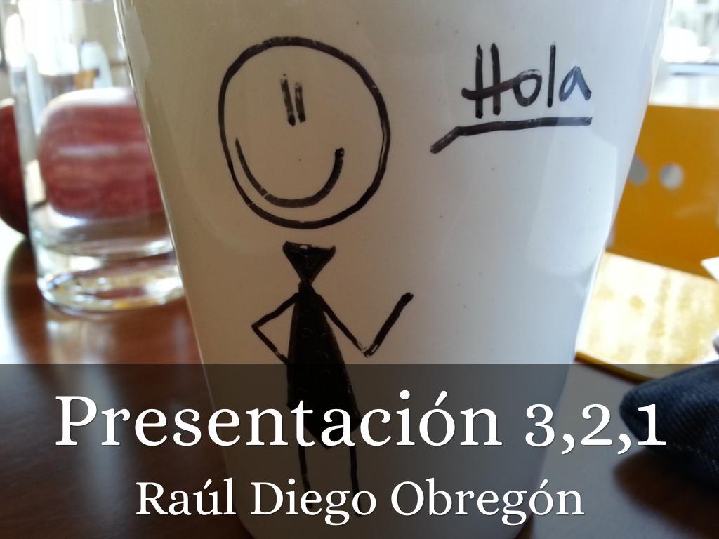 Presentación 3,2,1
