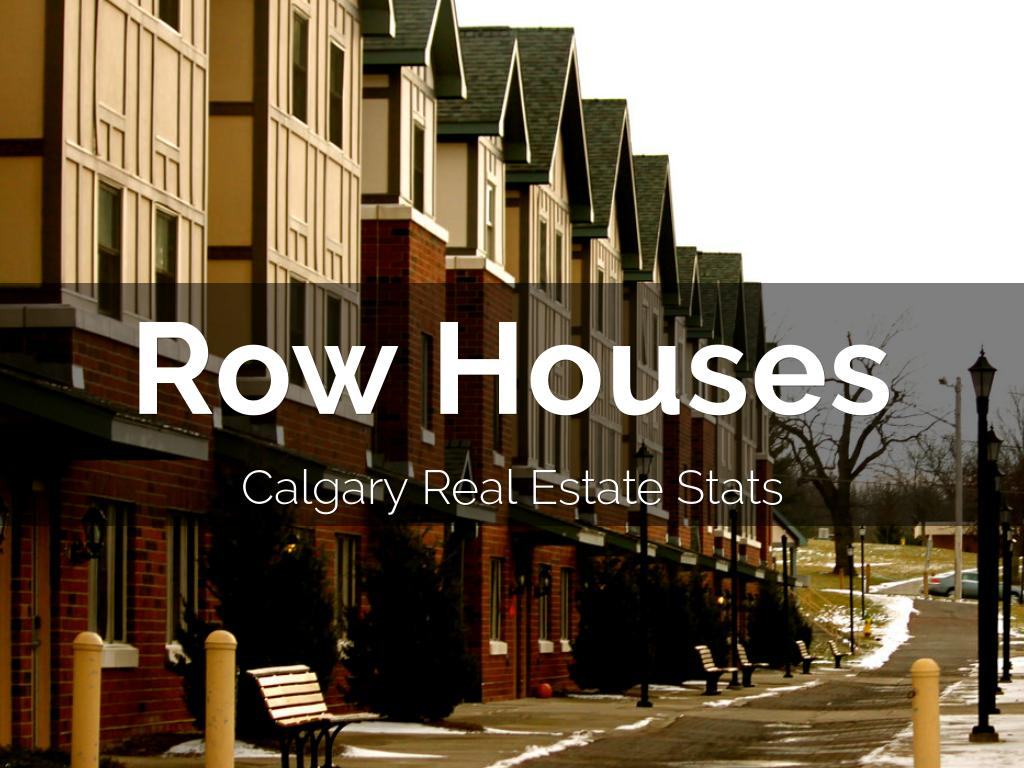 Row Houses In Calgary - May 2018