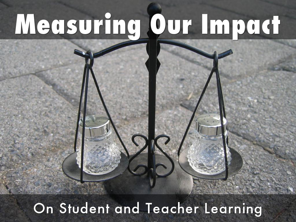 Measuring Our Impact