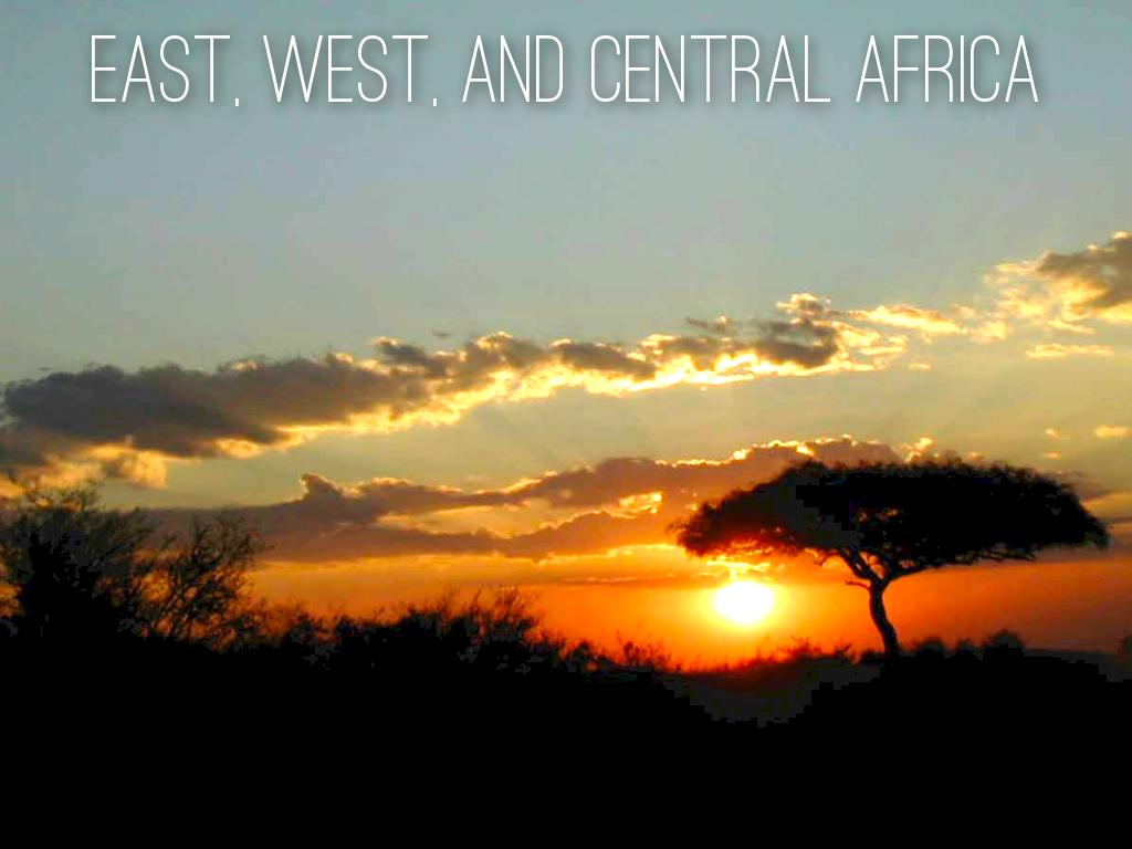 West, East, and Central Africa