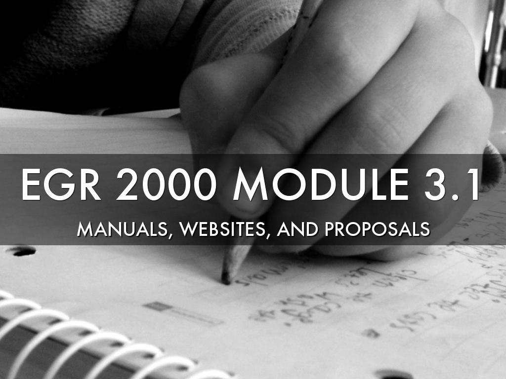 EGR 2000 Module 3.1