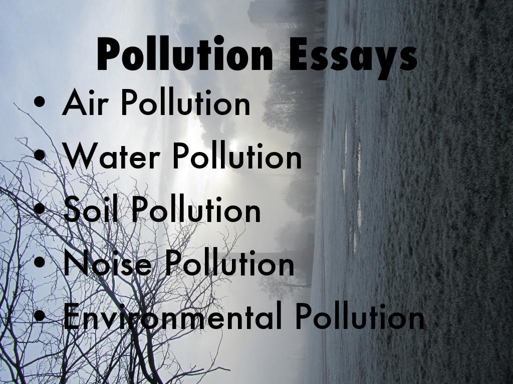 Pollution Essays