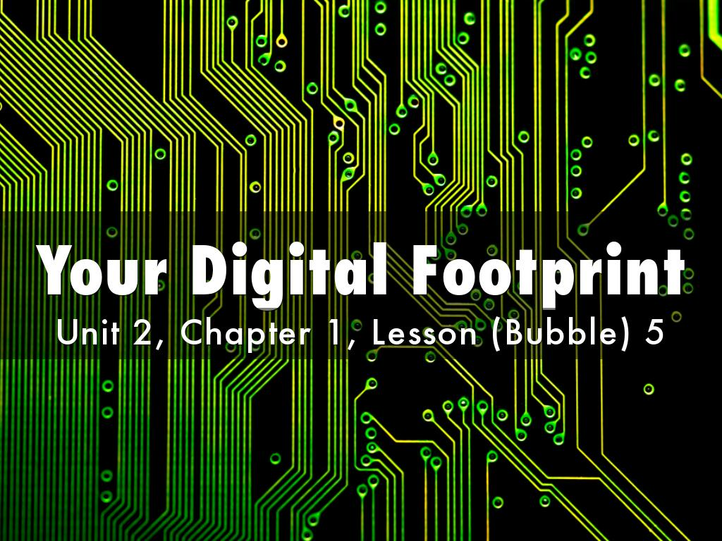 Your Digital Footprint