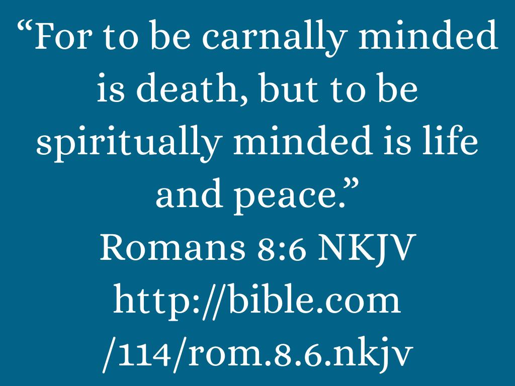 Righteousness, Peace, and Joy in the Holy Ghost by