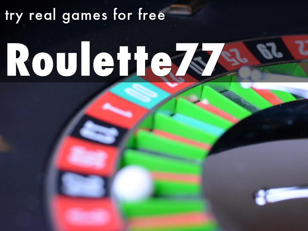 Roulette77 - your guide to online roulette