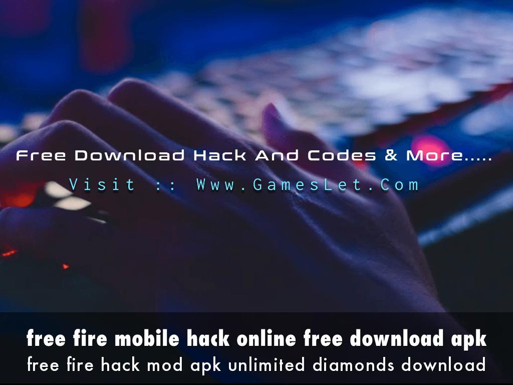 free fire mobile hack online free download apk