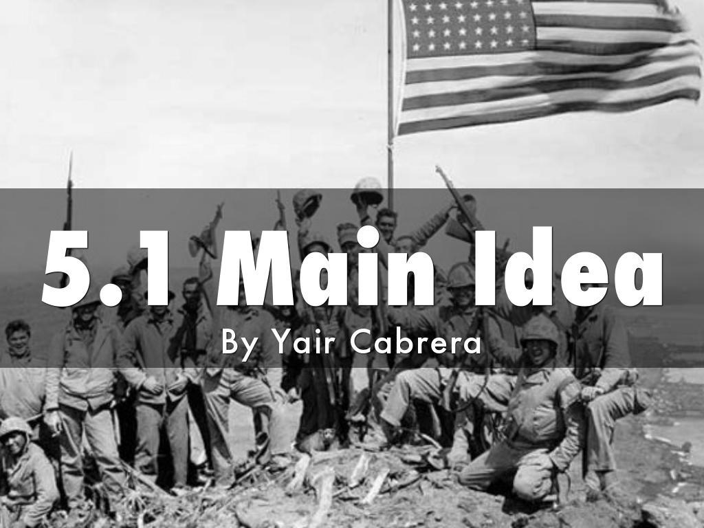 5.1 Main Idea