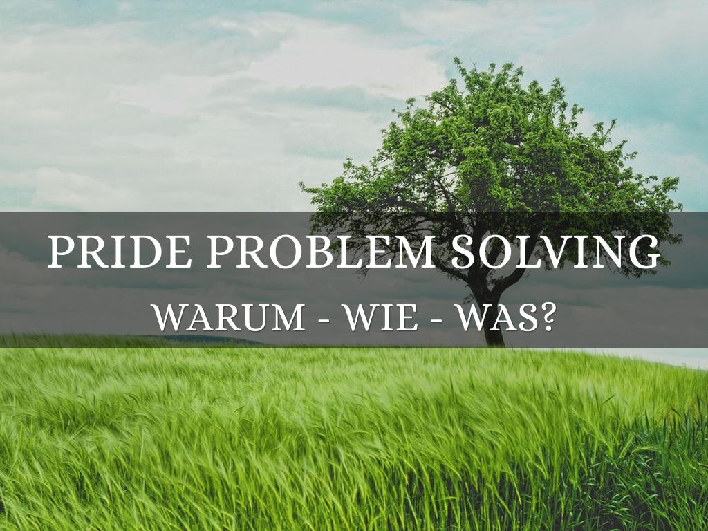 PRIDE Problem Solving (Deutsch)