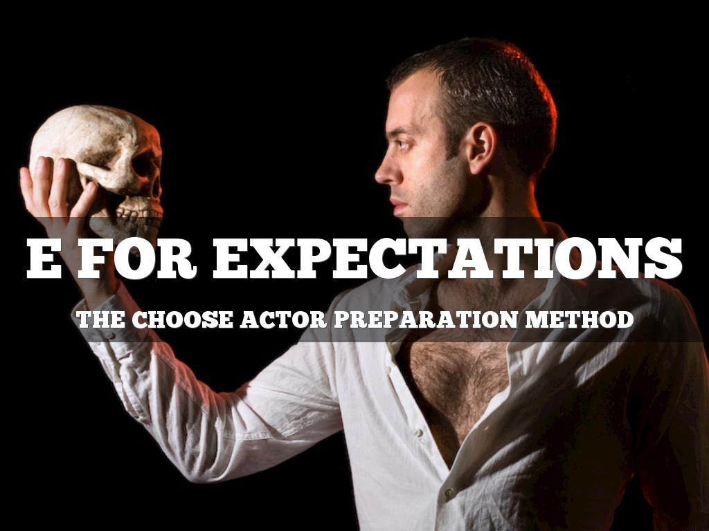 CHOOSE: E is for Expectations