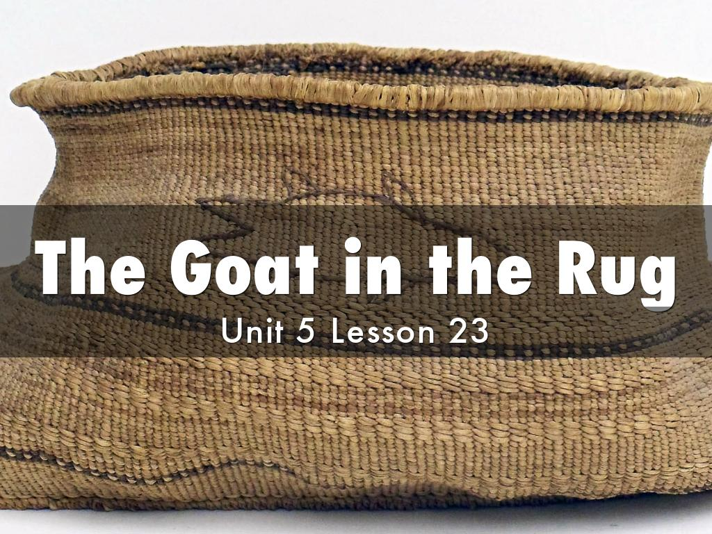 The Goat in the Rug by Larissa Hardman