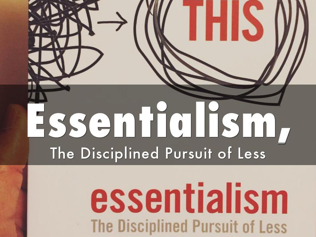Essentialism,