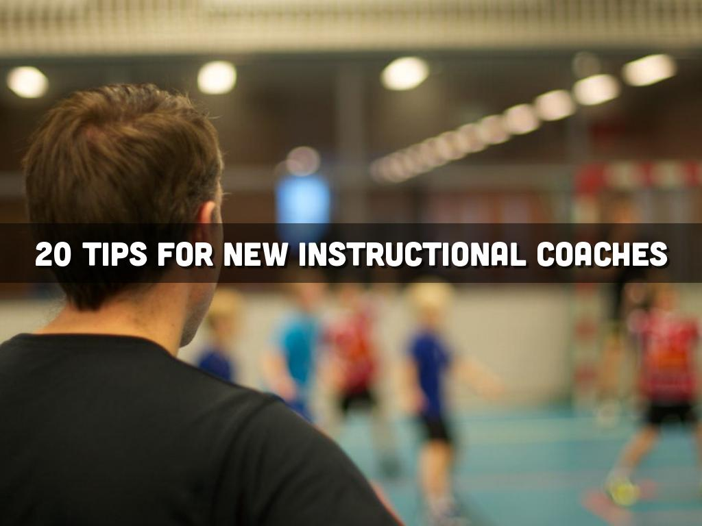 Copia de 20 Tips for New Instructional Coaches